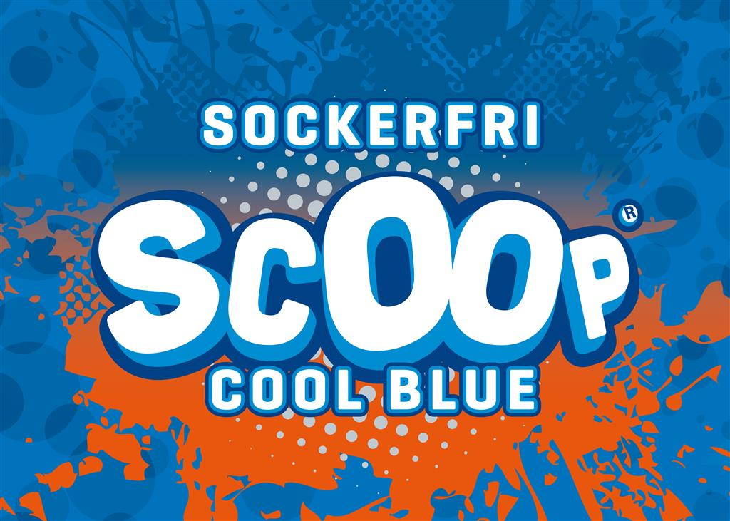 SCOOP Sockerfri Cool Blue 5L