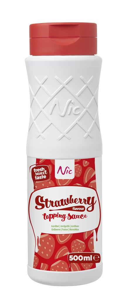 STRAWBERRY, topping, 0,5L