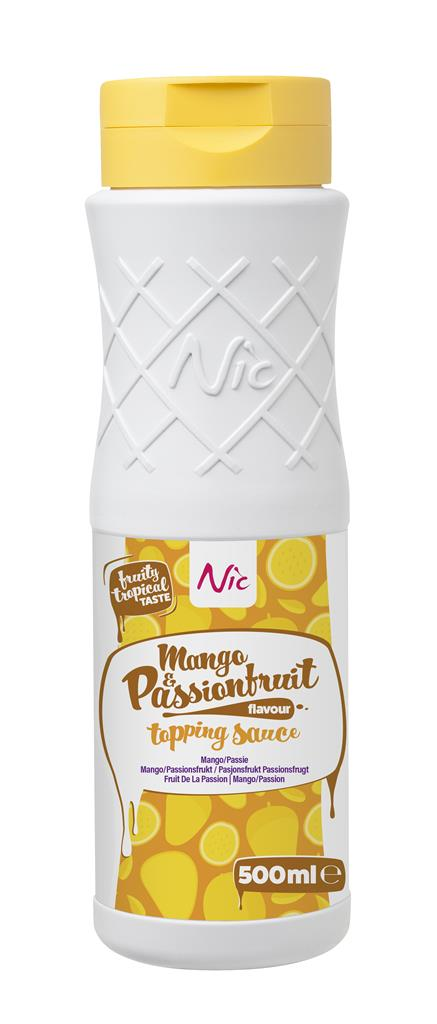 MANGO/PASSIONFRUIT, topping, 0,5L