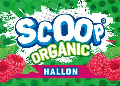 SCOOP Ekologisk Hallon 3L