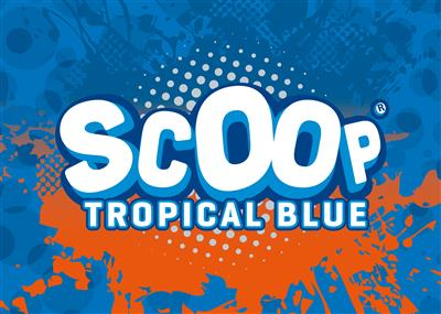 SCOOP Tropical blue 1L