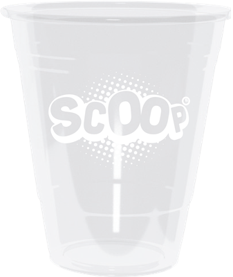 SCOOP, bägare, 470 ml, plast, 50 st