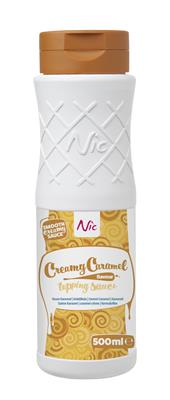 CREAMY CARAMEL, topping, 0,5L