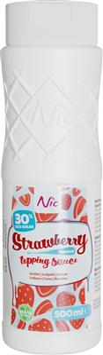 STRAWBERRY Less Sugar, topping, 0,5L